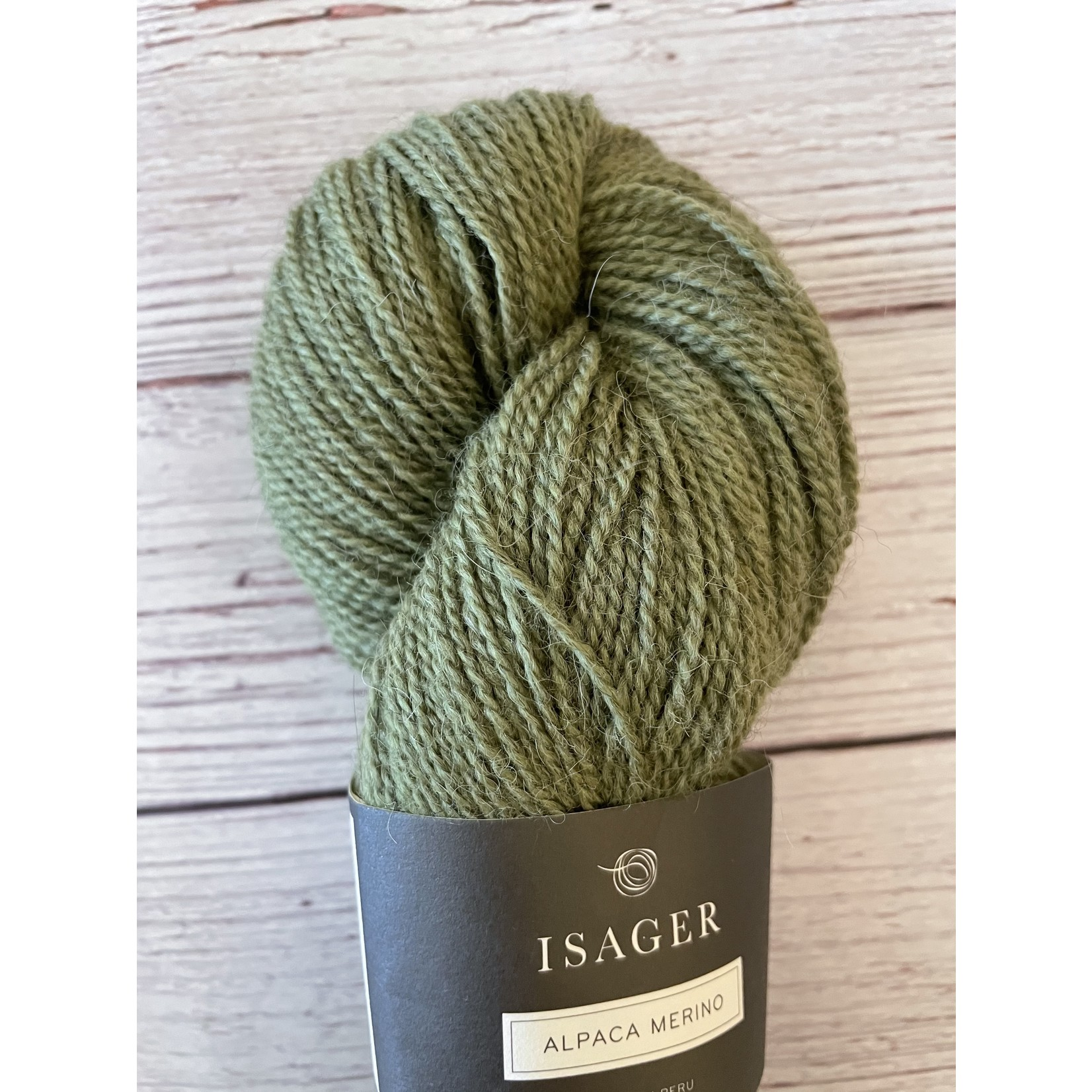 Tutto Isager Isager Alpaca 2, A2 43, Med. Green