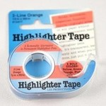 Accessories Unlimited Highlighter Tape, Assorted