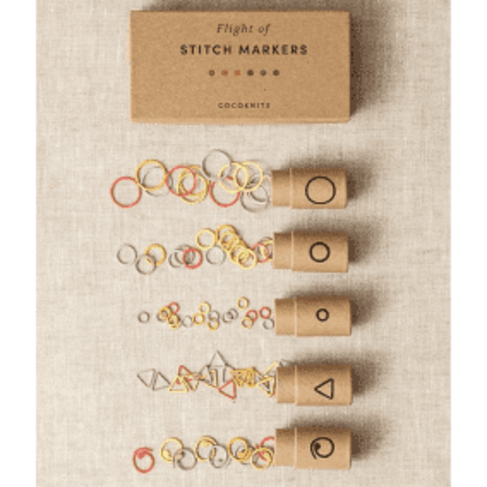 CoCo Knits CoCo Knits Flight of Stitch Markers