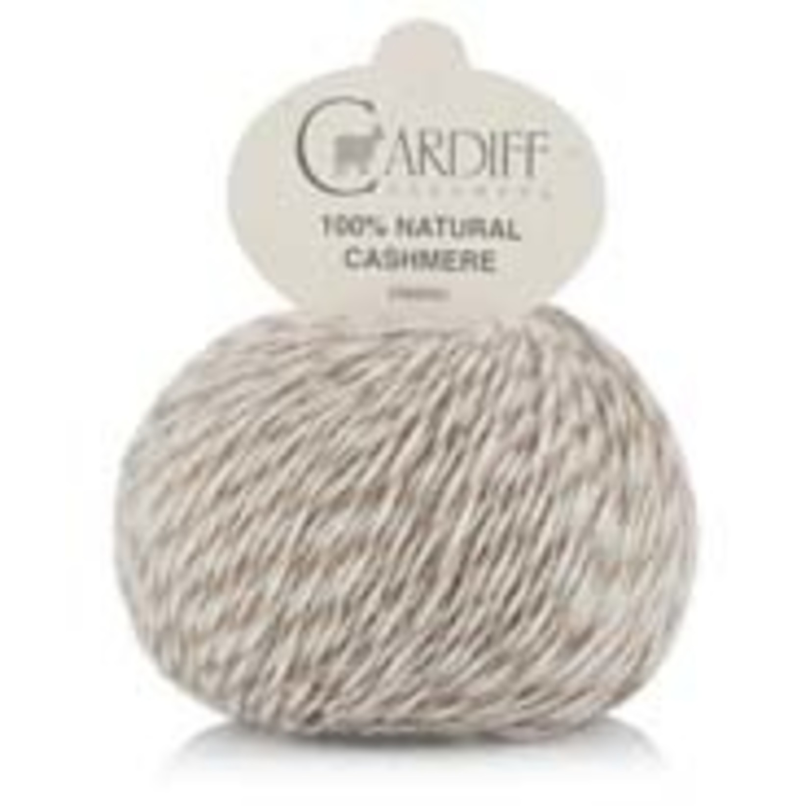 Trendsetter Yarns Cardiff Cashmere, 573, Natural Dbl Cream/Taupe