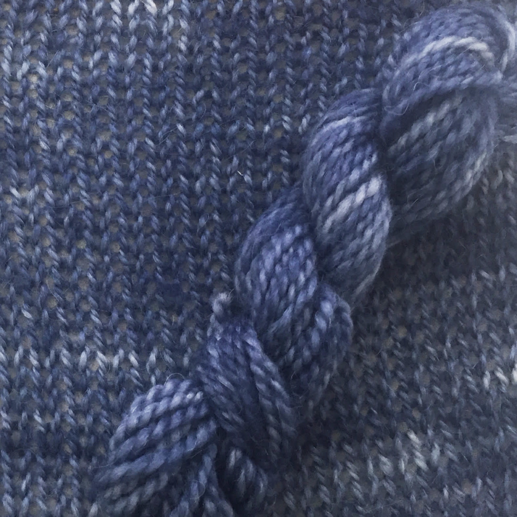 The Alpaca Yarn Co Symmetry, 09, Blue Velvet