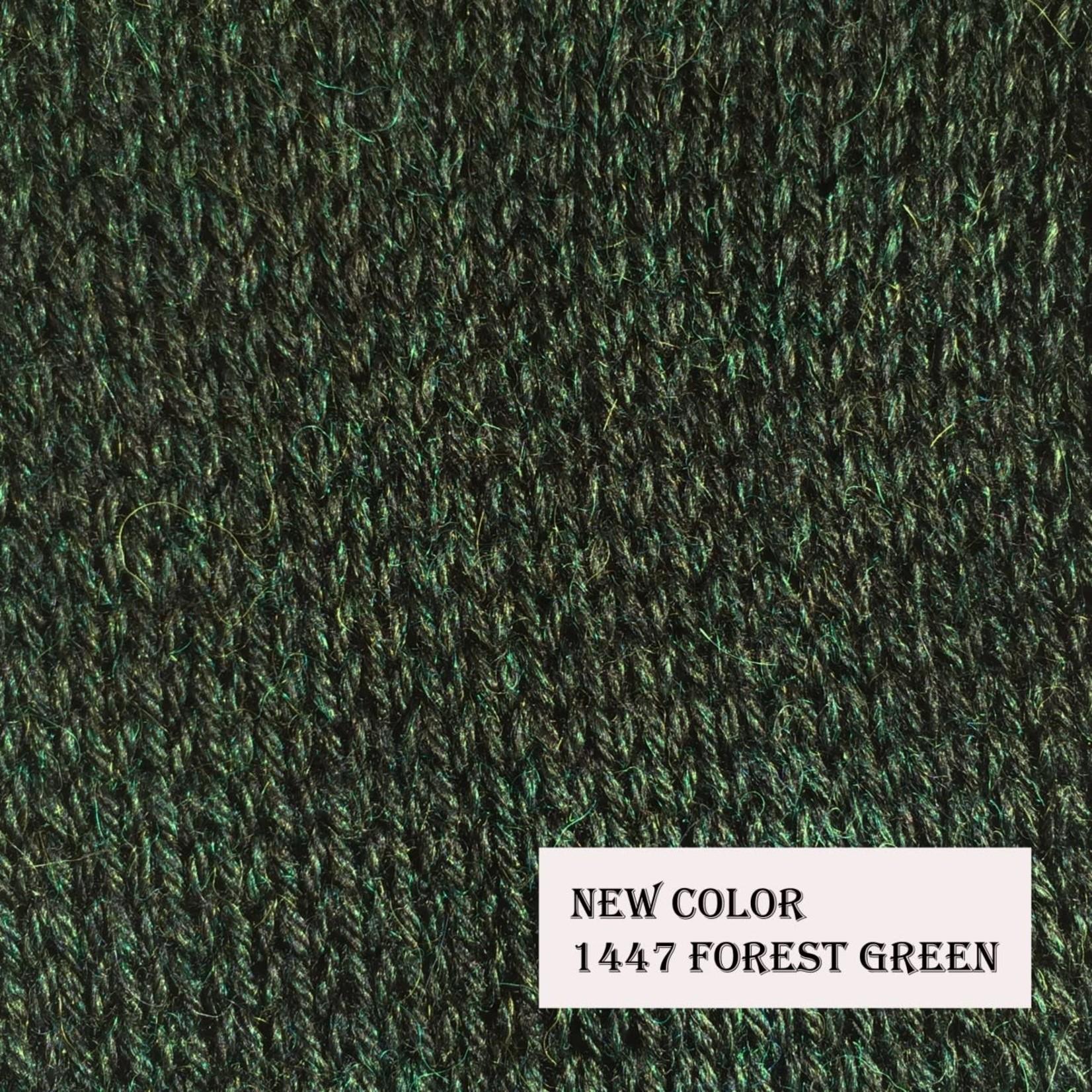 The Alpaca Yarn Co Classic Alpaca, 1447, Forest Green