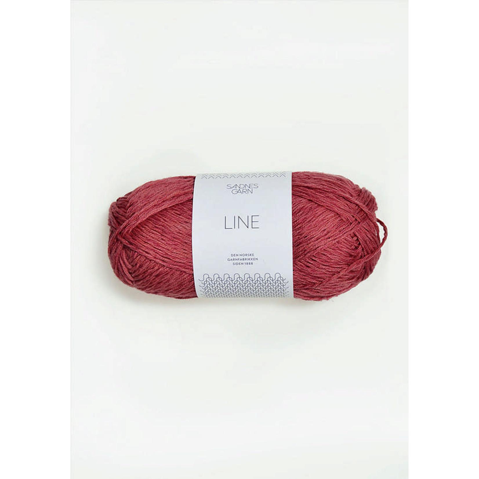 Sandnes Garn Line, 4335, Raspberry Cream