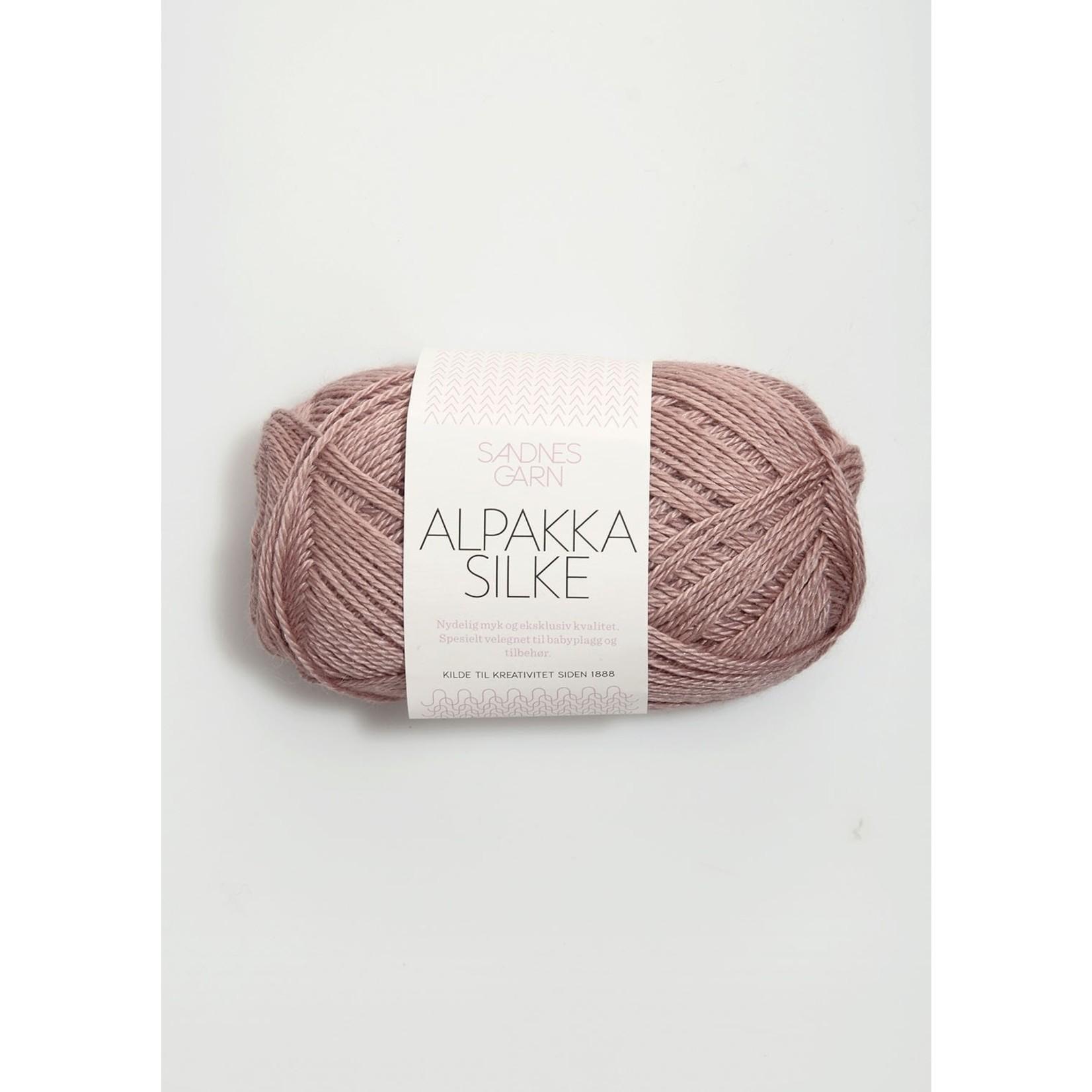 Sandnes Garn Alpakka Silke, 4331, Old Pink