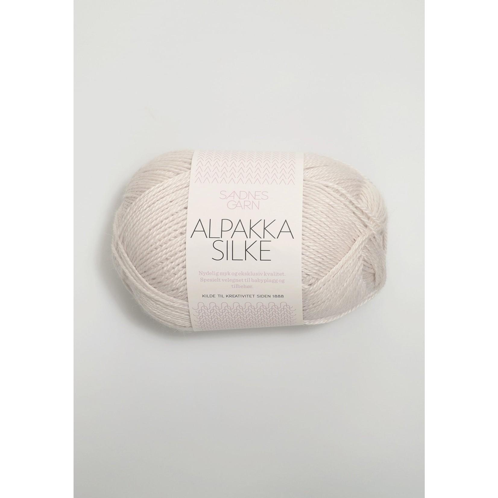 Sandnes Garn Alpakka Silke, 1015, Putty
