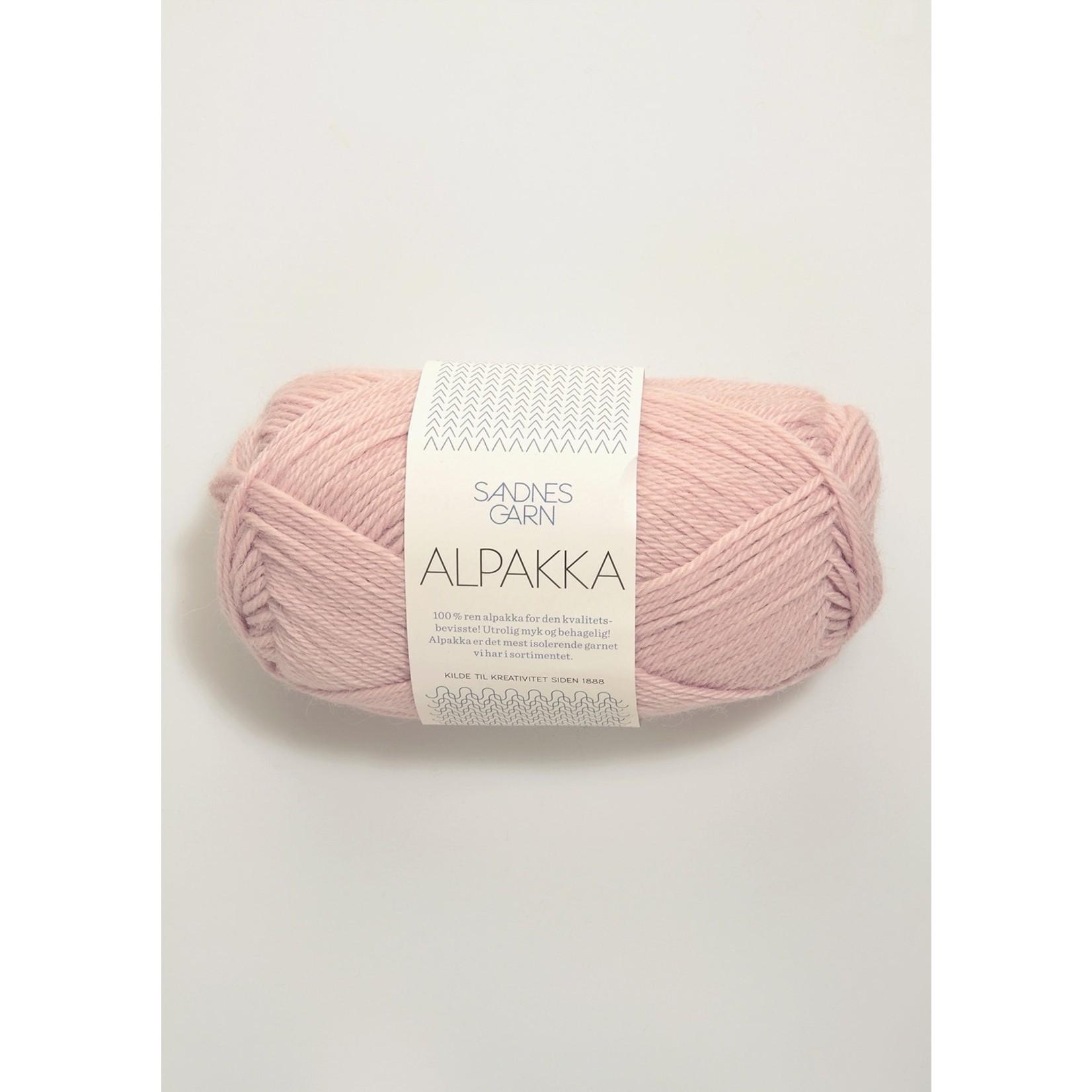 Sandnes Garn Alpakka, 3511, Powder Pink