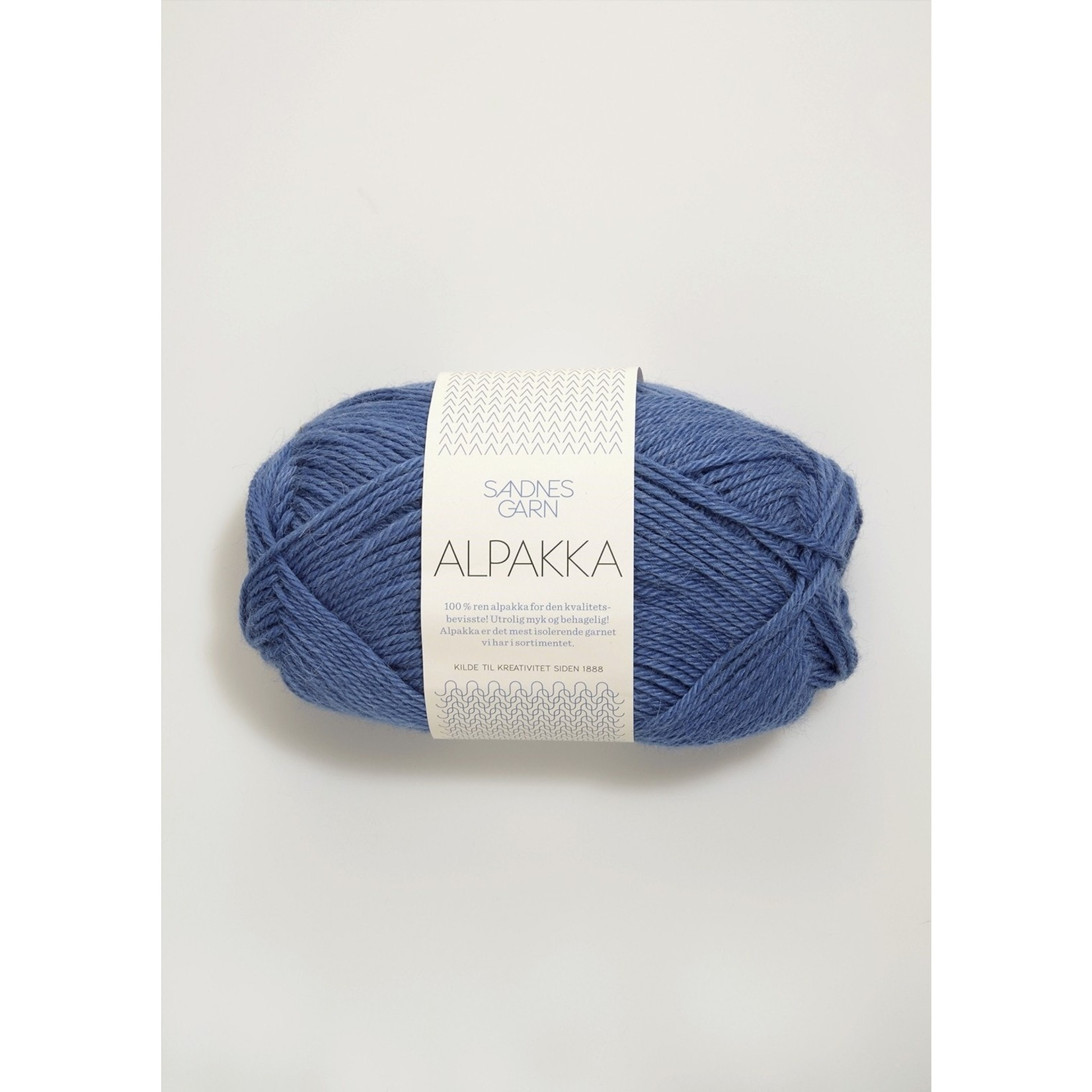 Sandnes Garn Alpakka, 6053, Blue