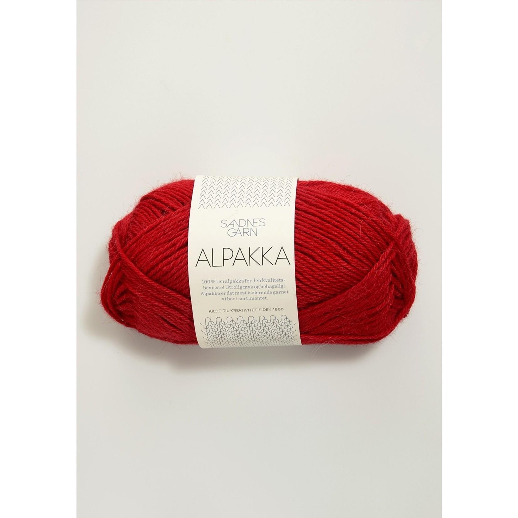 Sandnes Garn Alpakka, 4219, Red