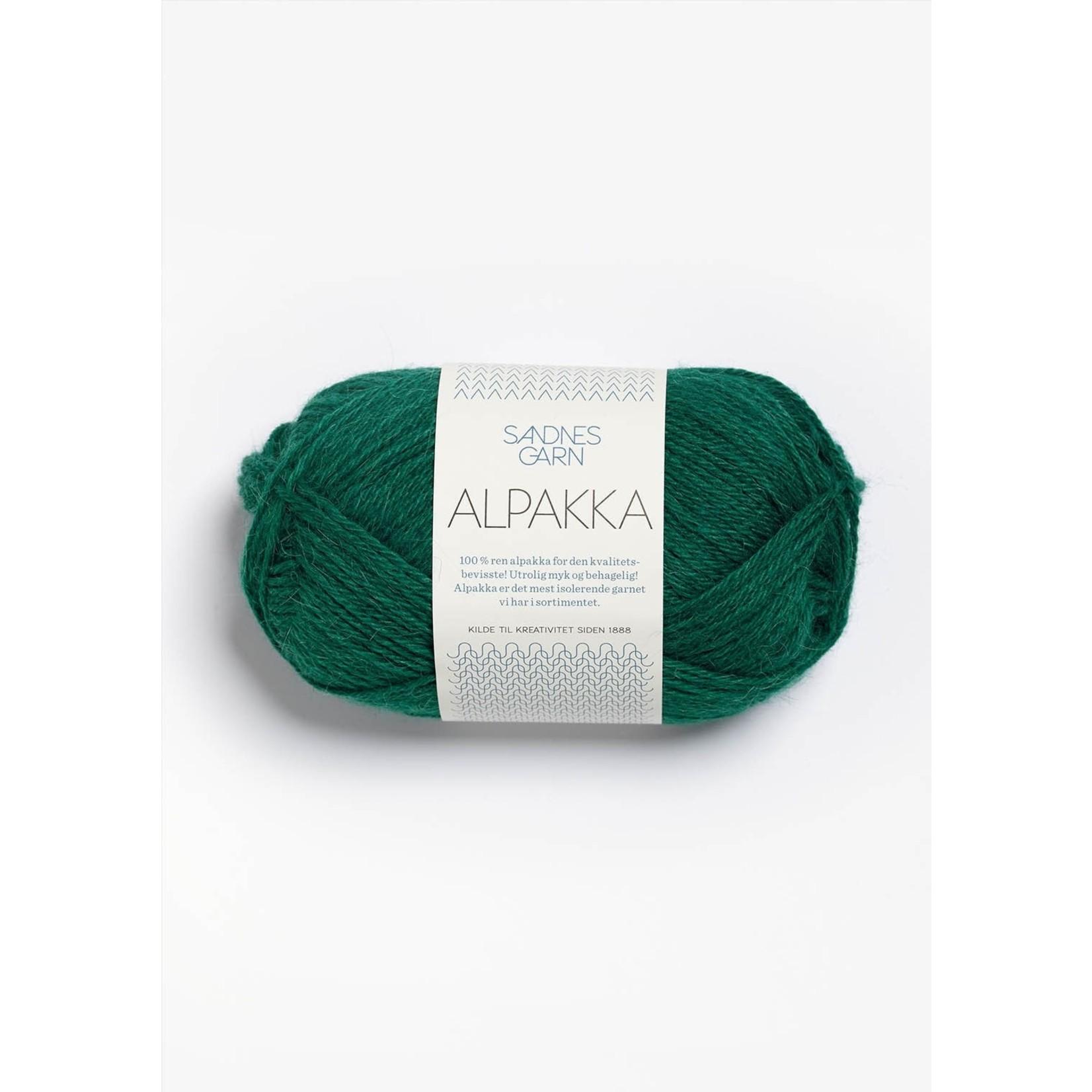 Sandnes Garn Alpakka, 7755, Emerald