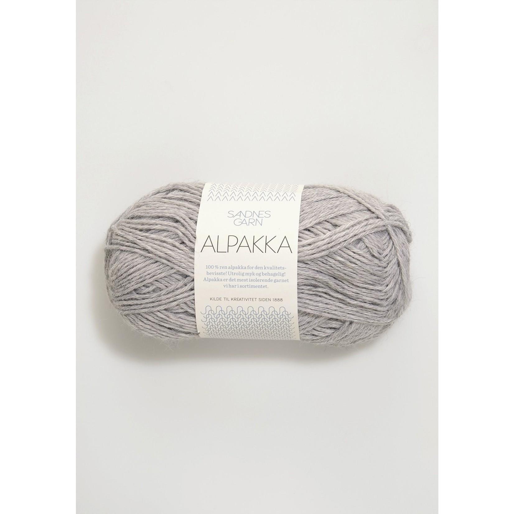 Sandnes Garn Alpakka, 1032, Light Gray Heather