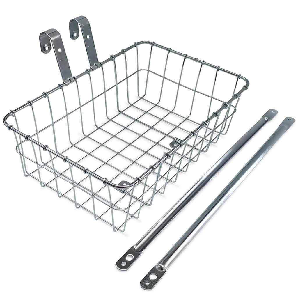 WALD FRONT BASKET #137 - SILVER