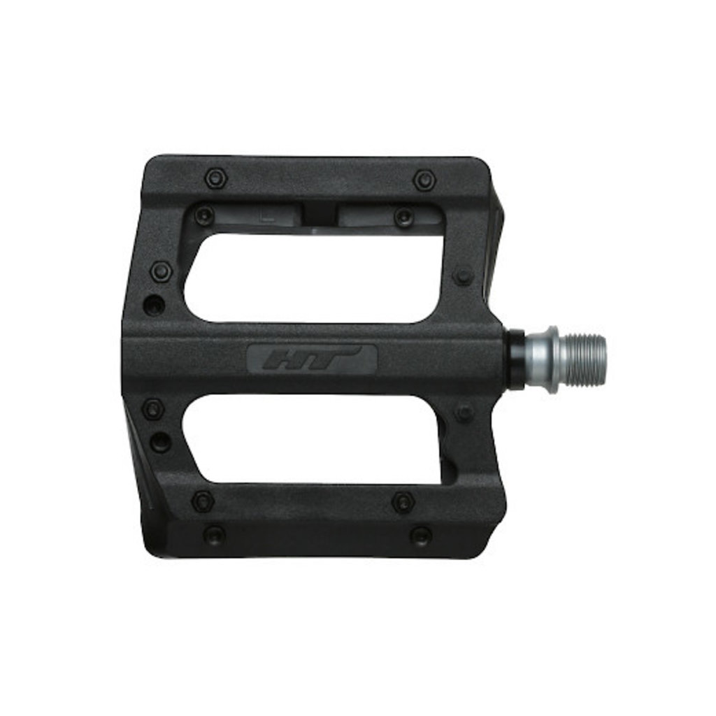 HT COMPONENTS PA12A FLAT PEDAL - BLACK