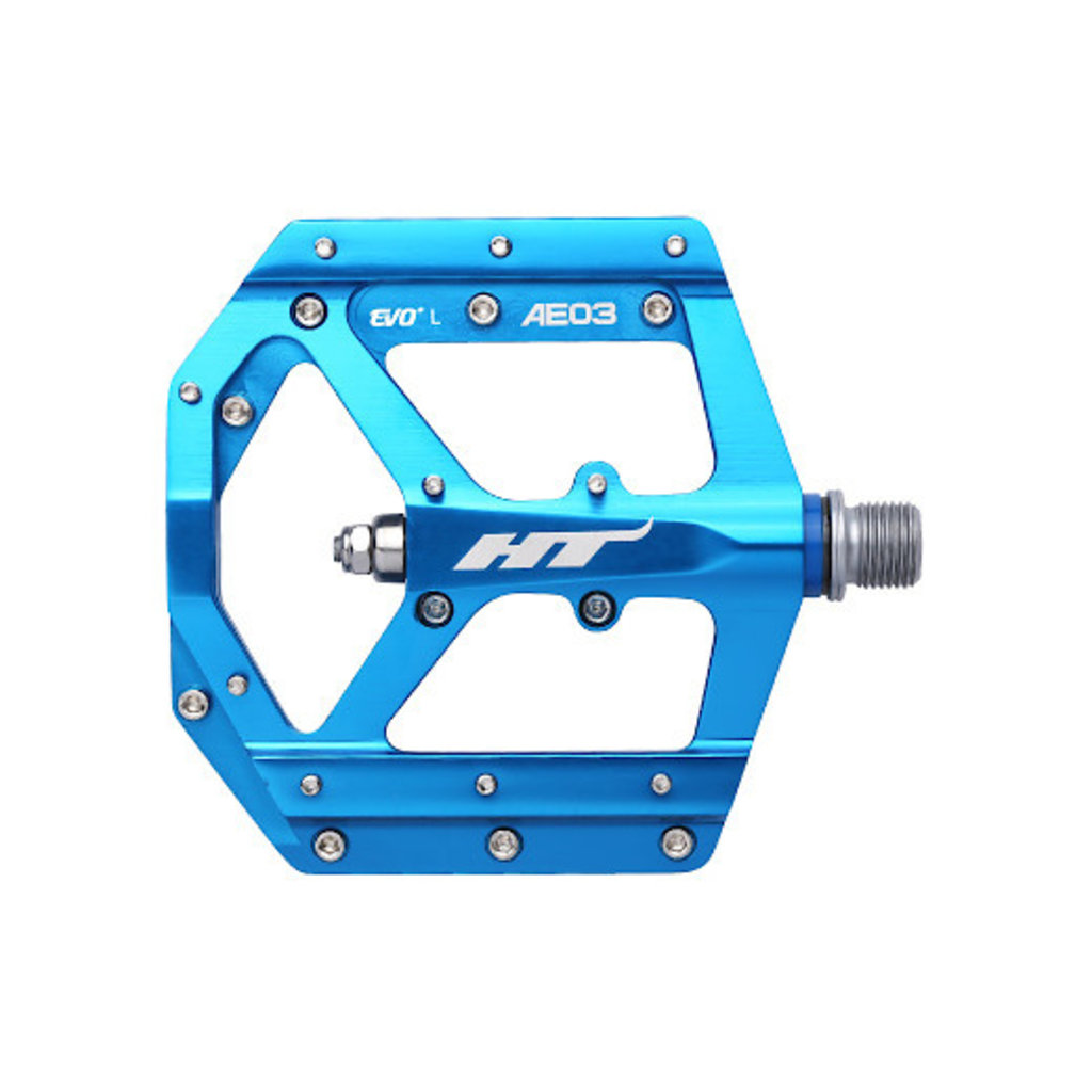 HT COMPONENTS ANO3 FLAT PEDAL - BLUE