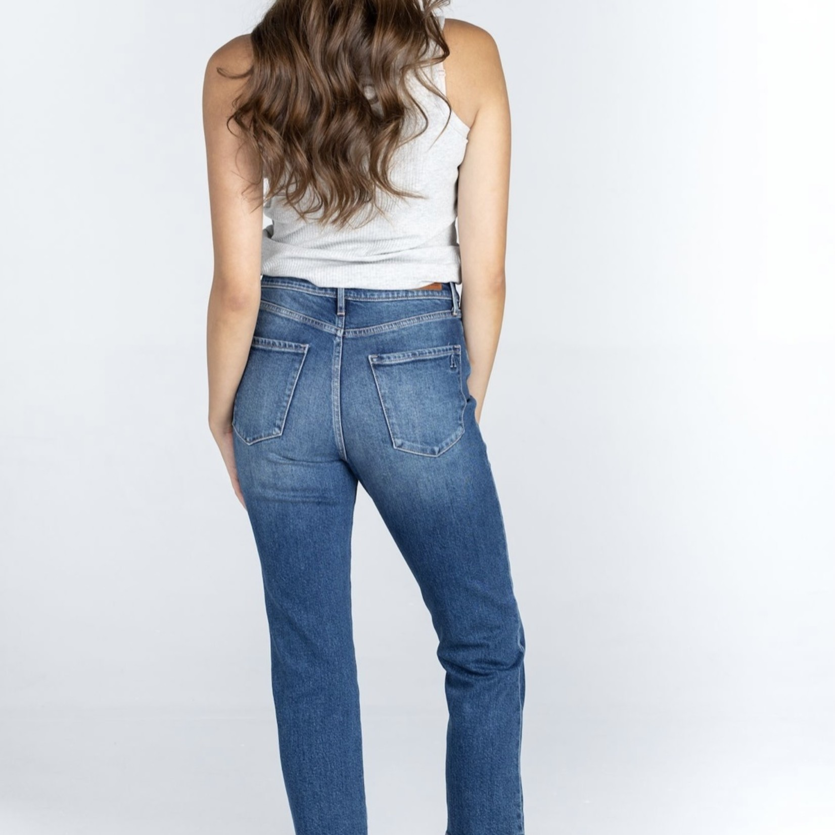 Articles Of Society Articles of Society Kate Hi Rise Straight Crop Jeans