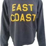 Retro Brand East Coast Crop Sweatshirt