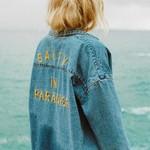 Billabong Billabong x Salty Blonde Feeling Salty Denim Buttondown