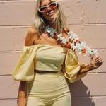 Billabong Billabong x Salty Blonde Sun Glow Top