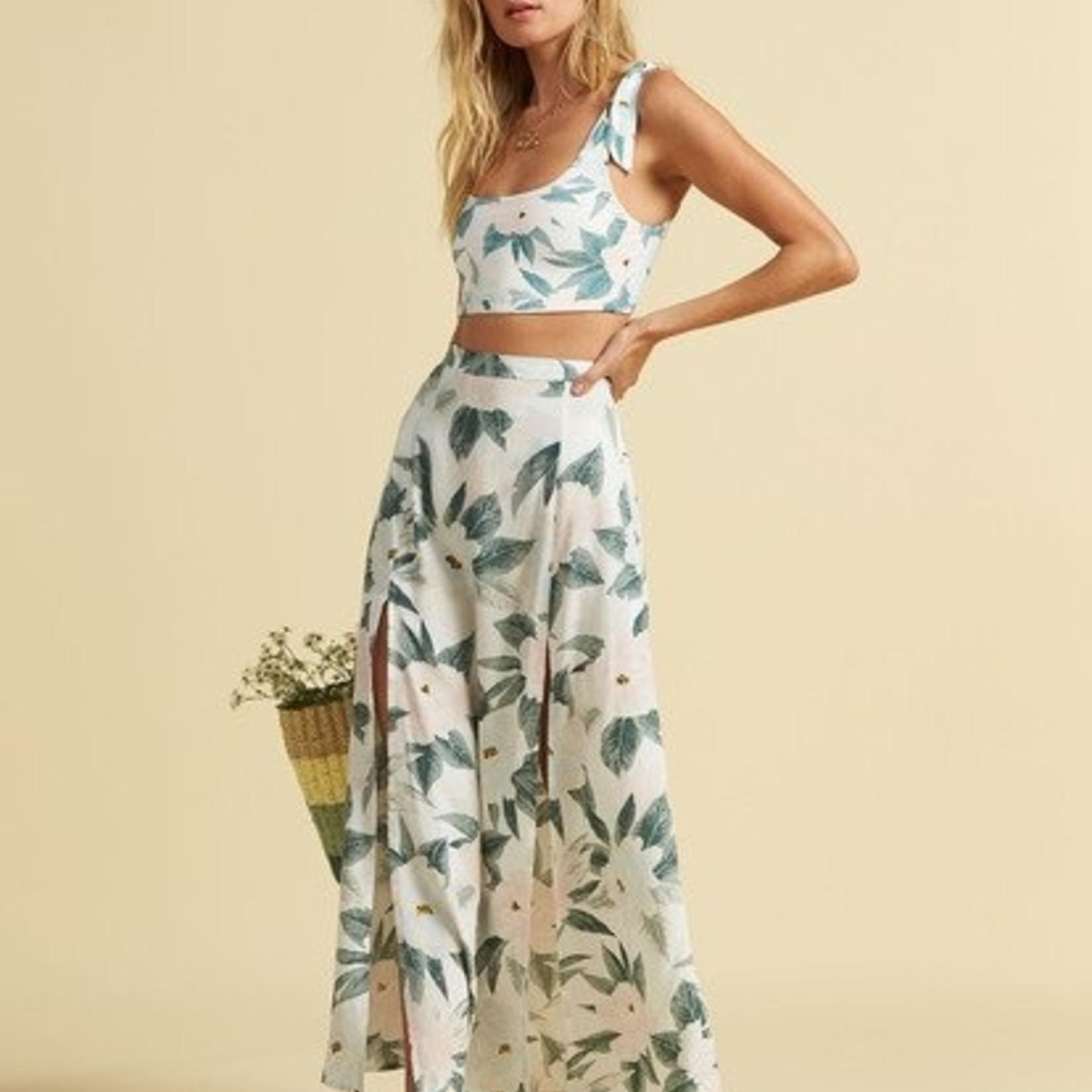 Billabong Billabong x Salty Blonde Peachy Keen Maxi Skirt