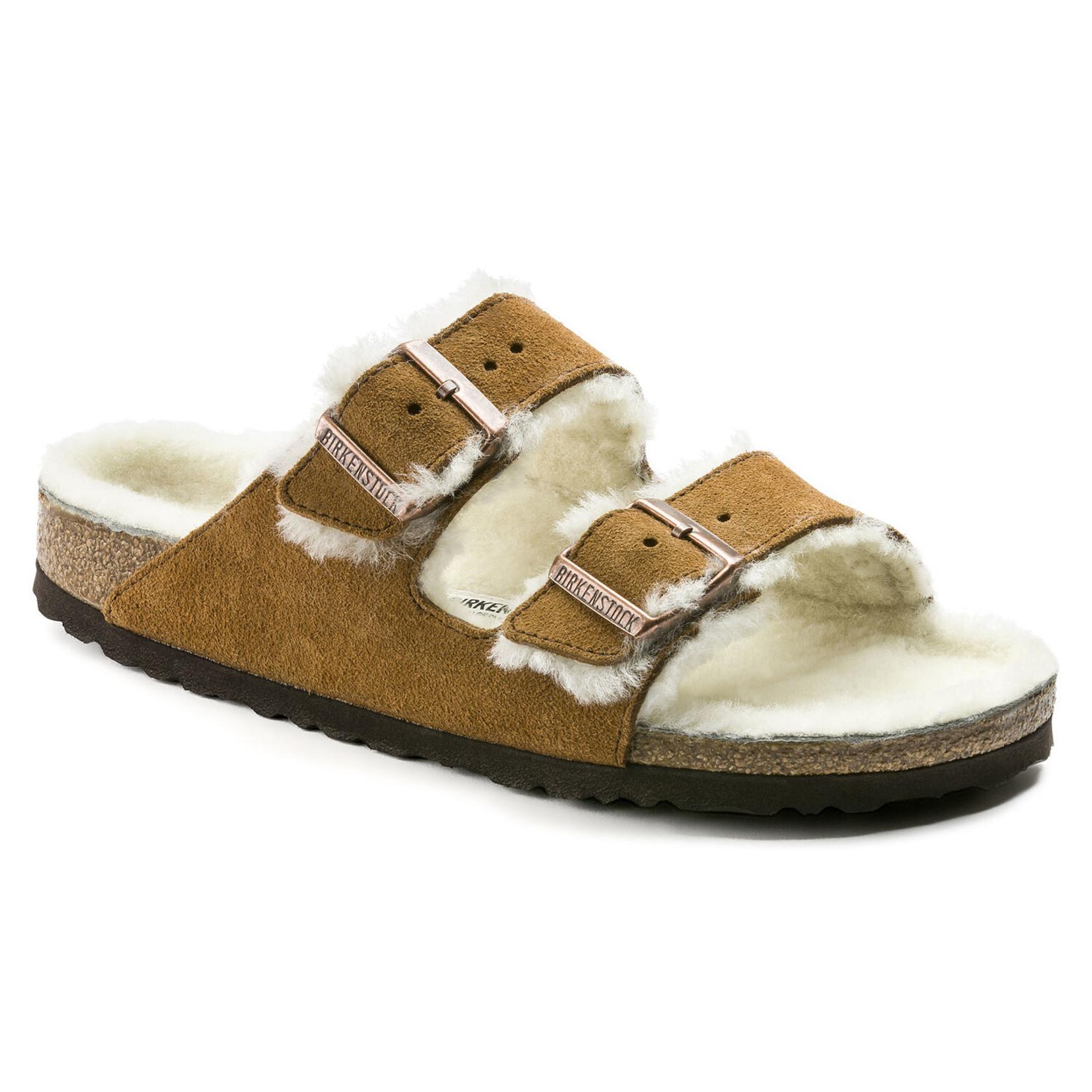 Birkenstock Birkenstock Arizona Fur Sandals
