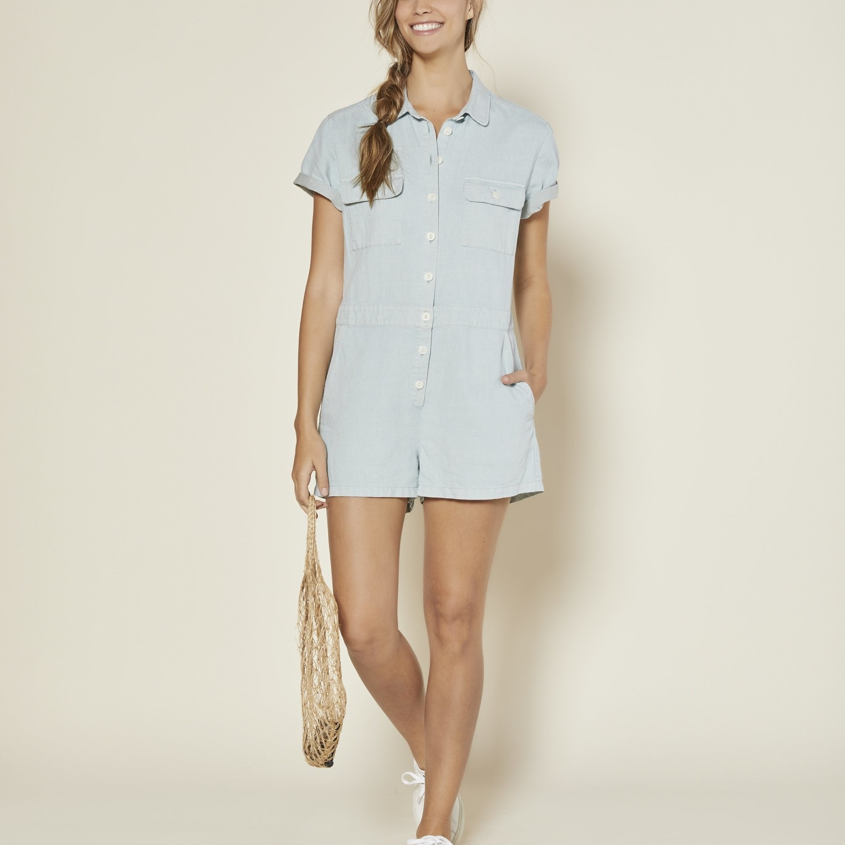 Outerknown Outerknown Sea Suit Shortall Romper