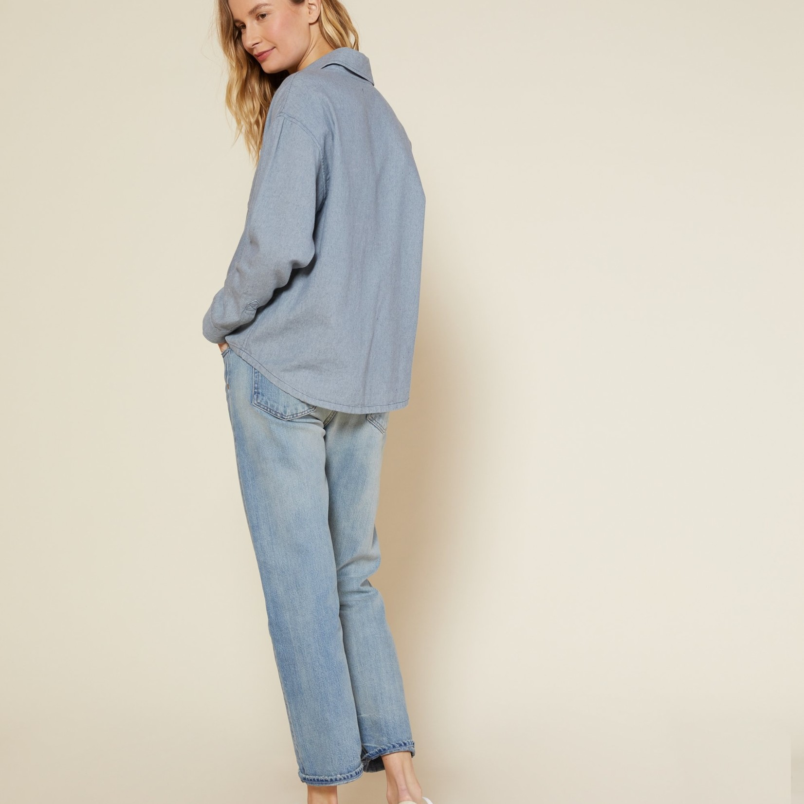 Outerknown Outerknown NDP Boxy Chambray Shirt