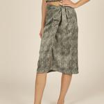 Flying Point Side Tie Slip Skirt