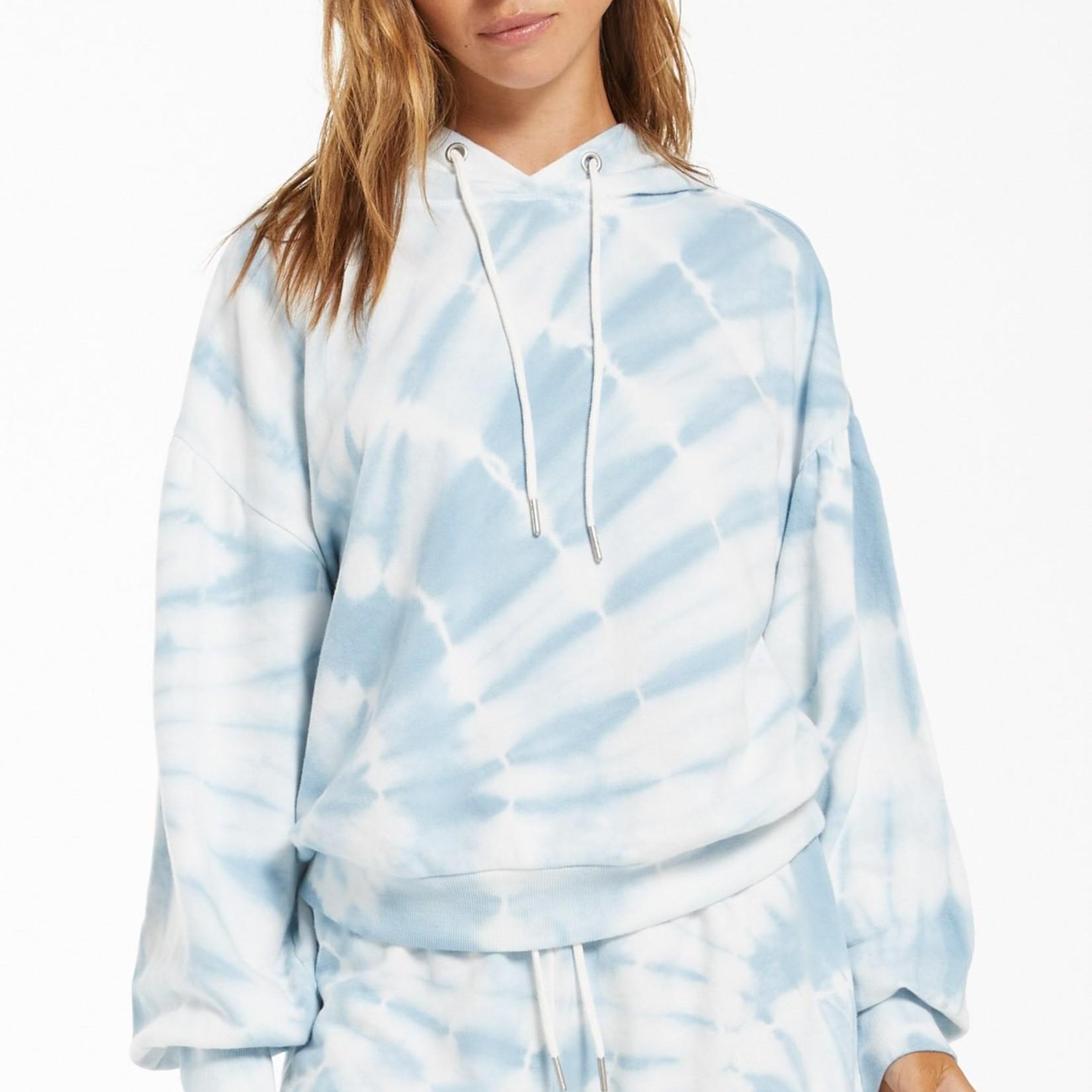 Z Supply Z Supply Eva Spiral Tie Dye Hood