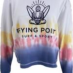 Flying Point Buddha Burnout Crewneck