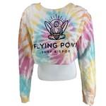 Flying Point Buddha Crop Crewneck
