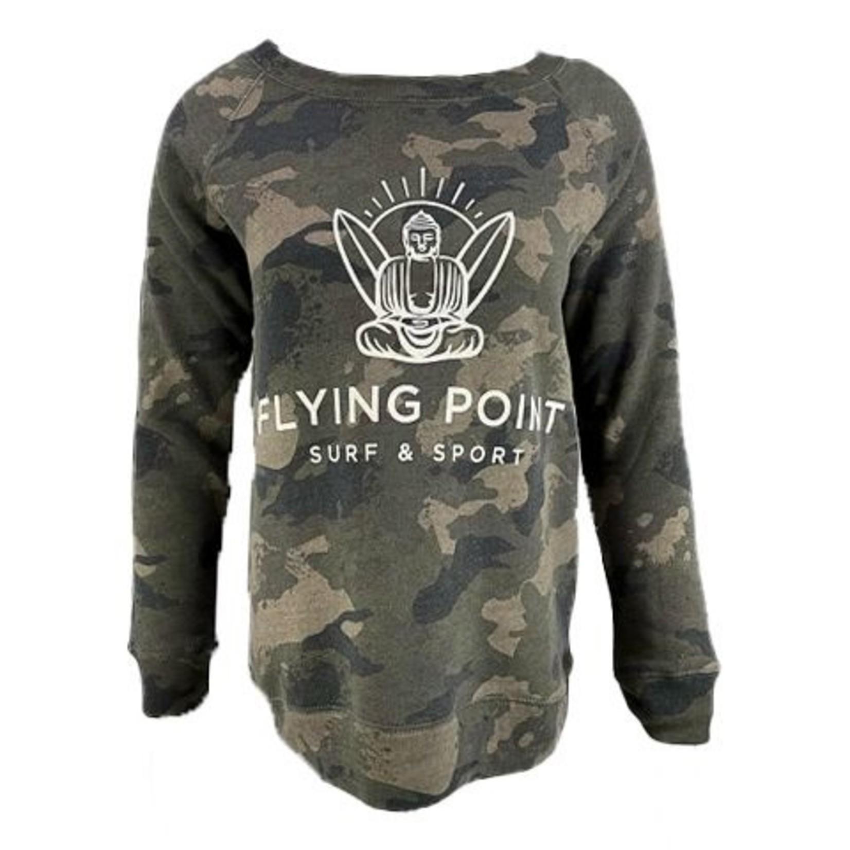 Flying Point W Buddha Crew Faded Camo