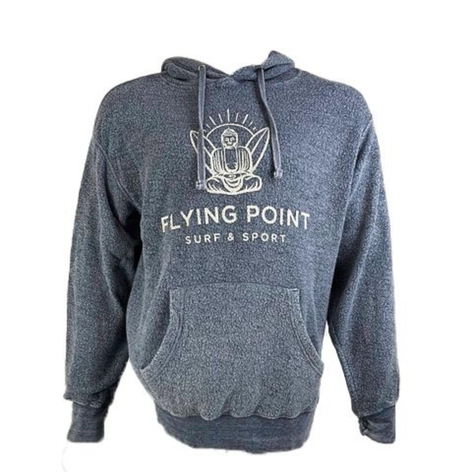 Flying Point Buddha Fleece Lake Blue Sweatshirt
