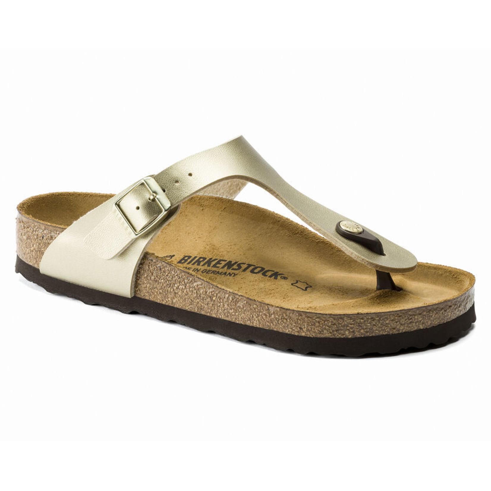 Birkenstock Birkenstock Gizeh Birko-Flor Gold Sandals