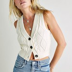 Free People Free People Denson Cable Vest