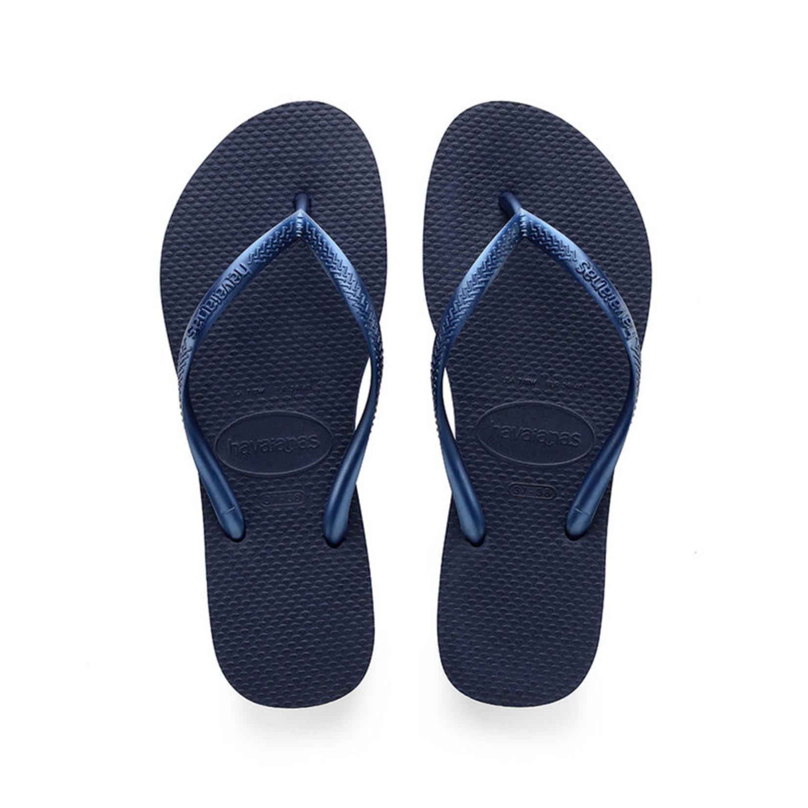 Havaianas Havaianas Slim Sandal Navy Blue FlipFlops