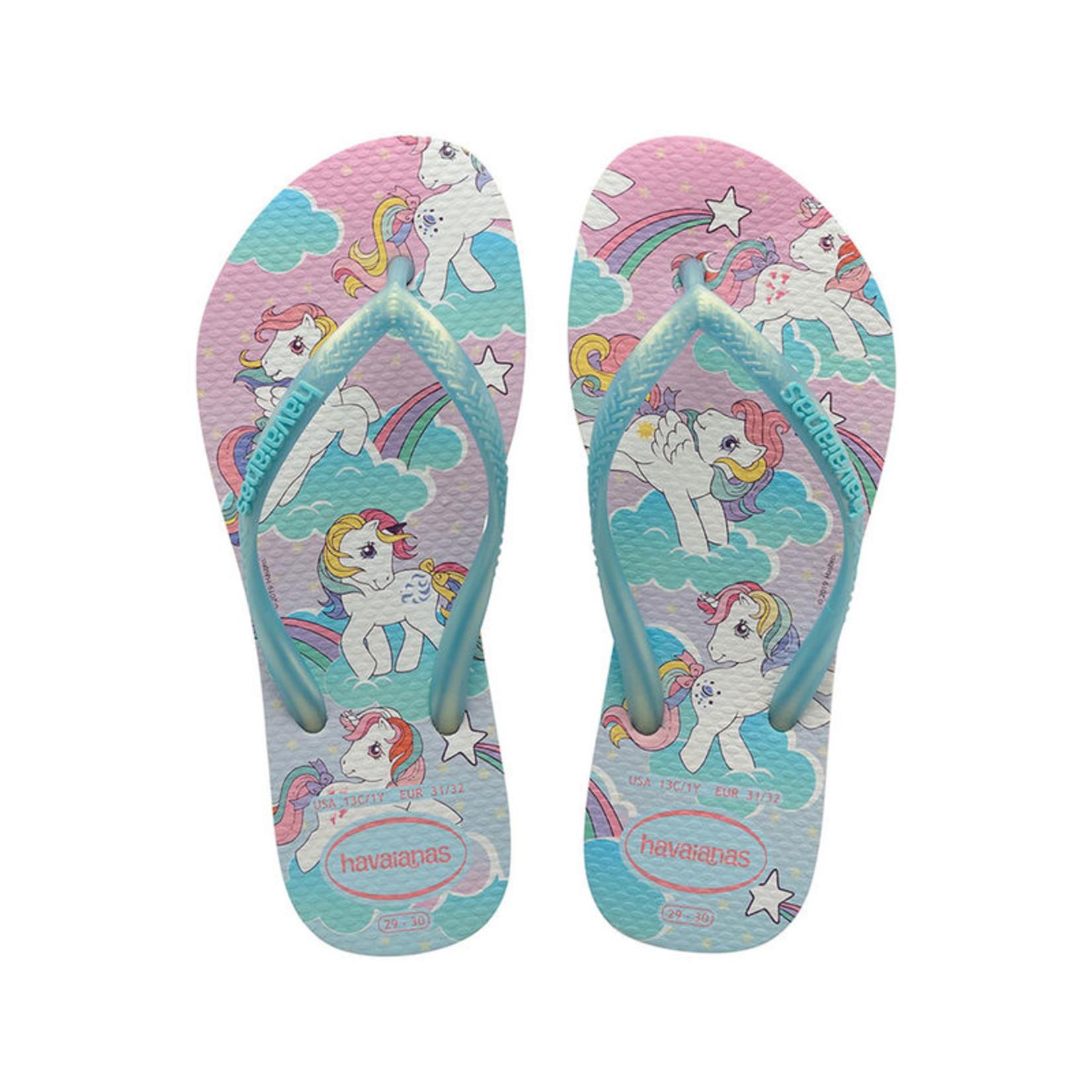 Havaianas Havaianas Girls Slim My Little Pony 41445140994K White Sandals