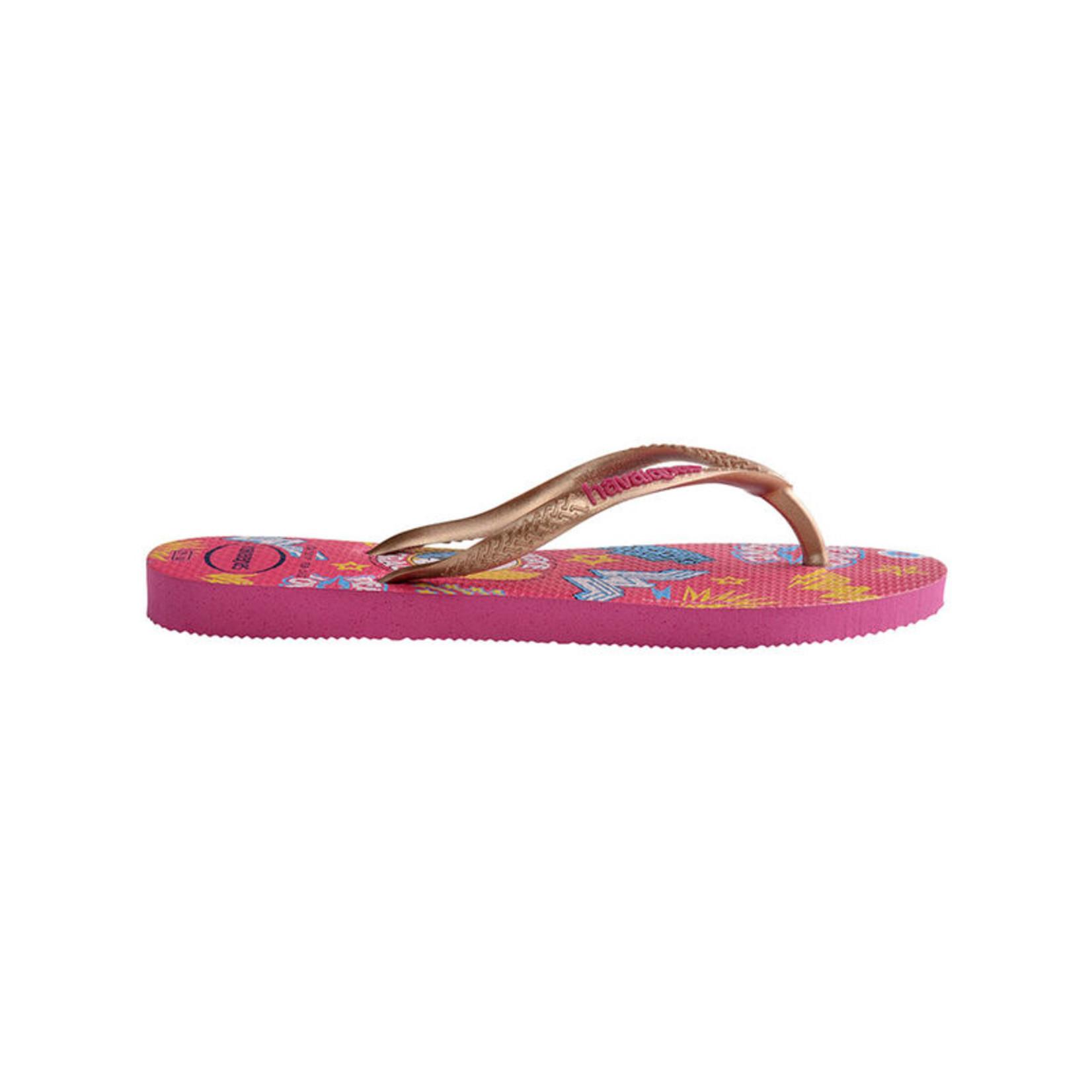 Havaianas Havaianas Kids Slim Wonder Woman 41445300064K Hollywood Rose Sandals