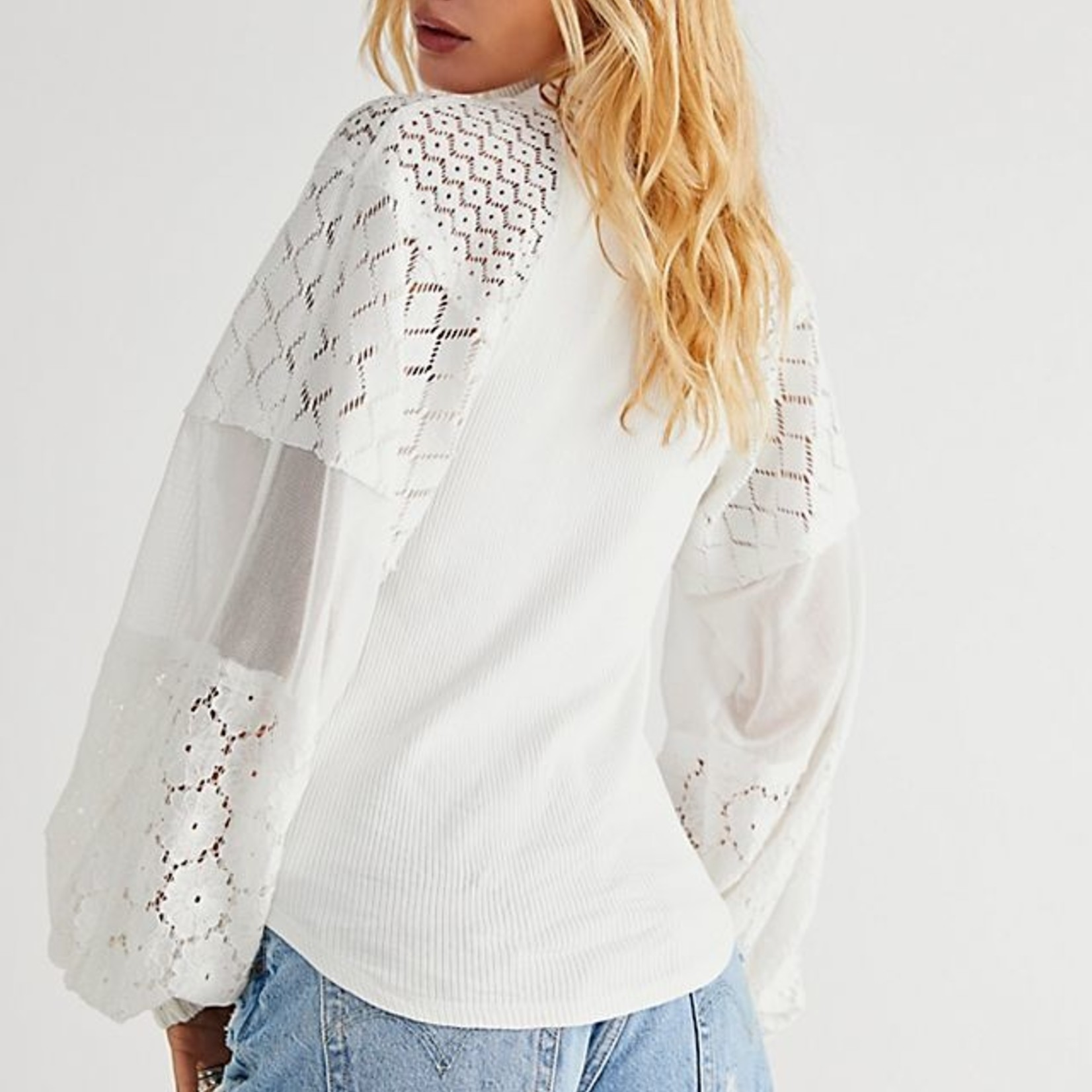 Free People Free People Love Too Much Top