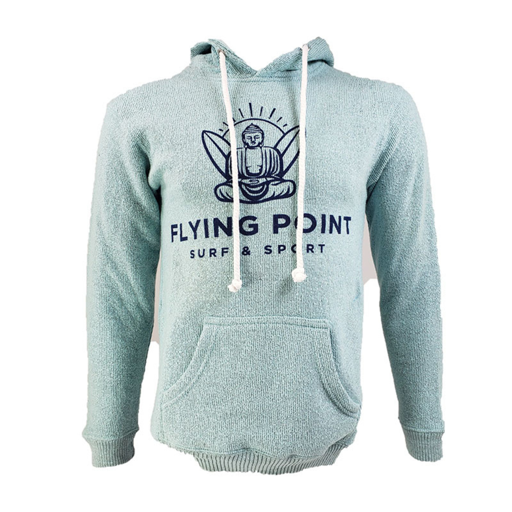 Flying Point Buddha Nantucket Pullover Hood