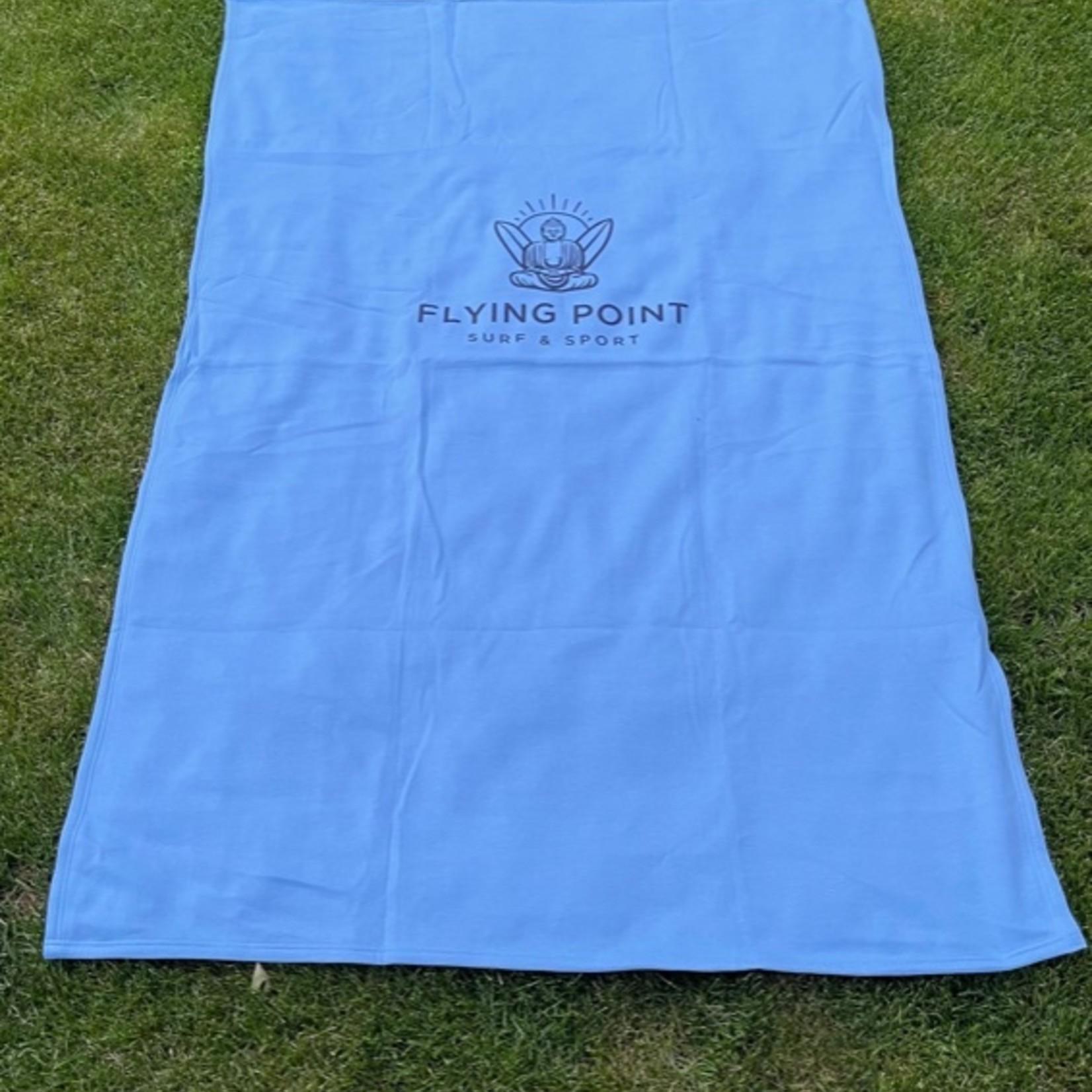 Flying Point Buddha Beach Blanket