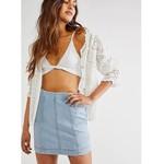 Free People Free People Modern Femme Denim Mini Skirt