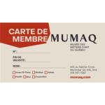 Carte de membre famille - 1 an