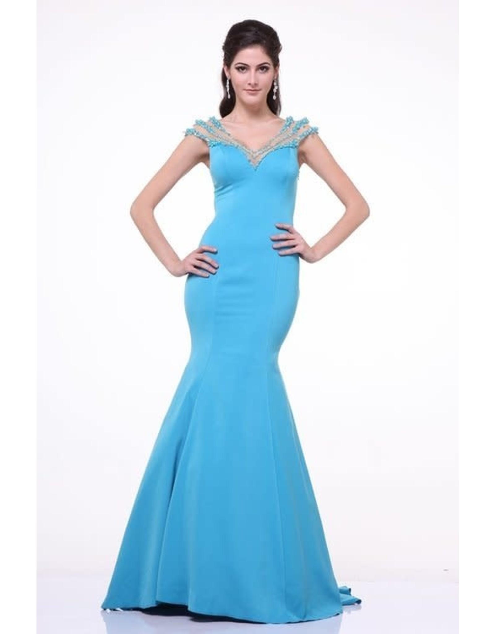 Cinderella Divine 8106 Cinderella Devine Aqua 4