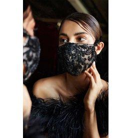 Andrea & Leo Black Face Mask