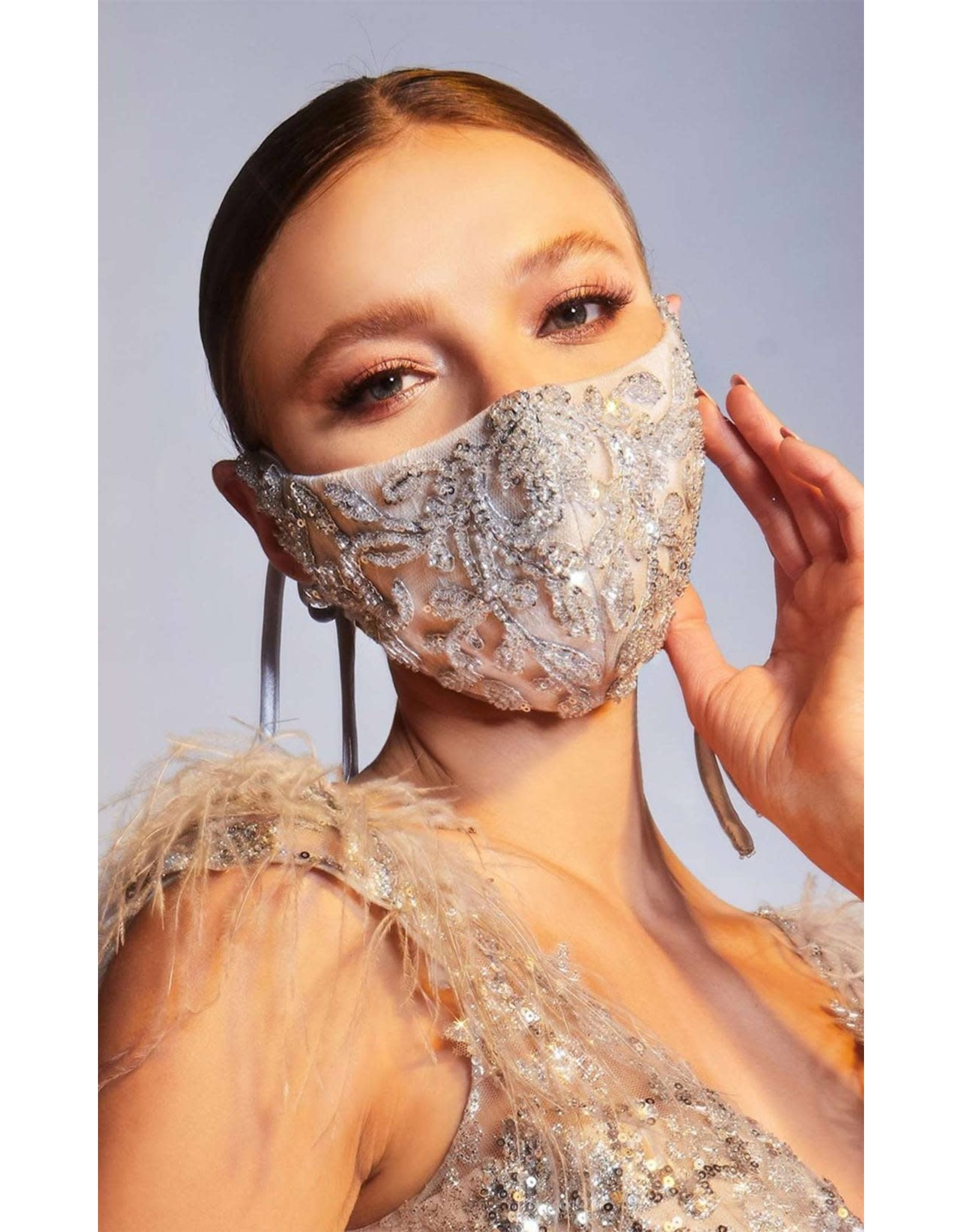 Andrea & Leo Platinum Face Mask