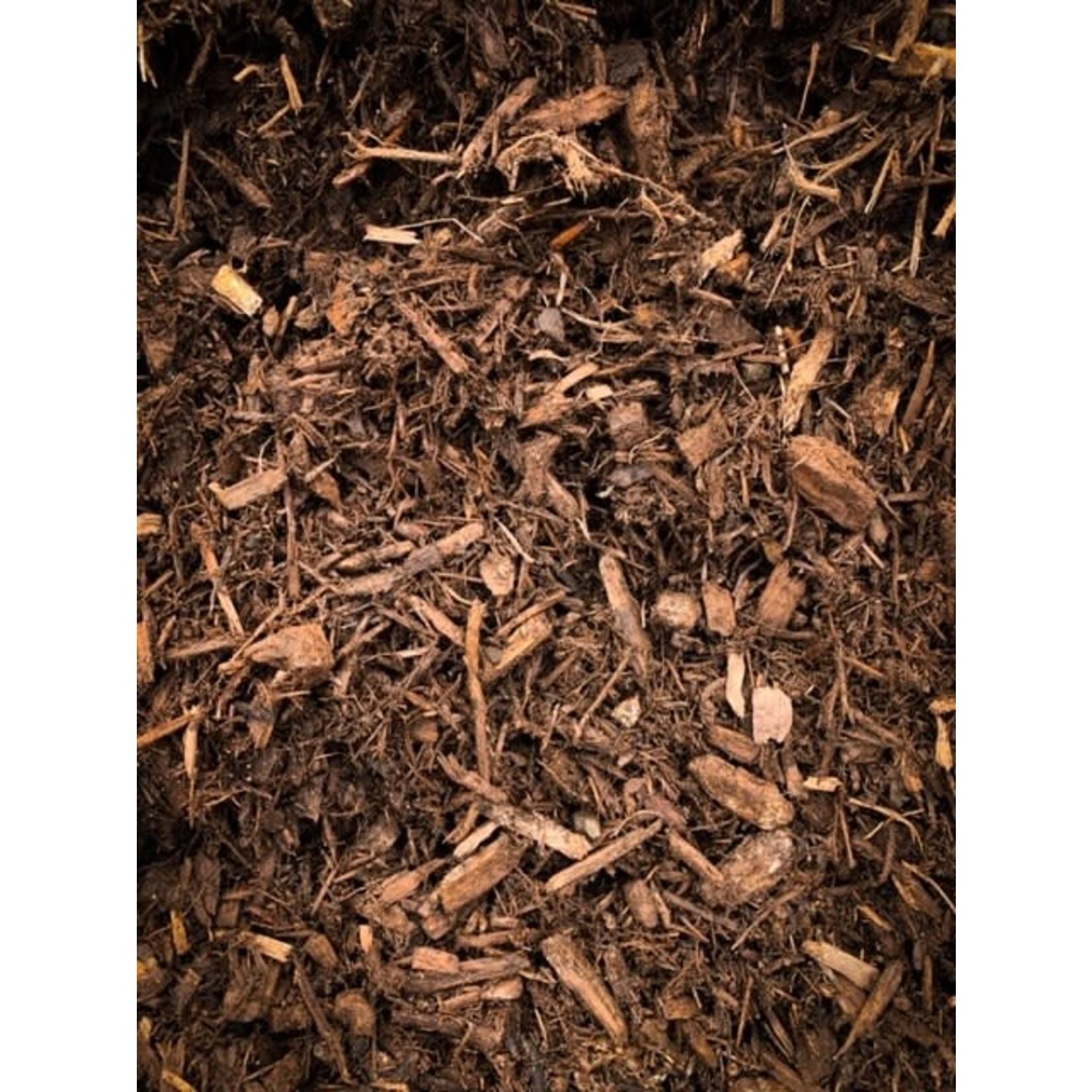 Mulch - Enhanced Brown  [Bulk]