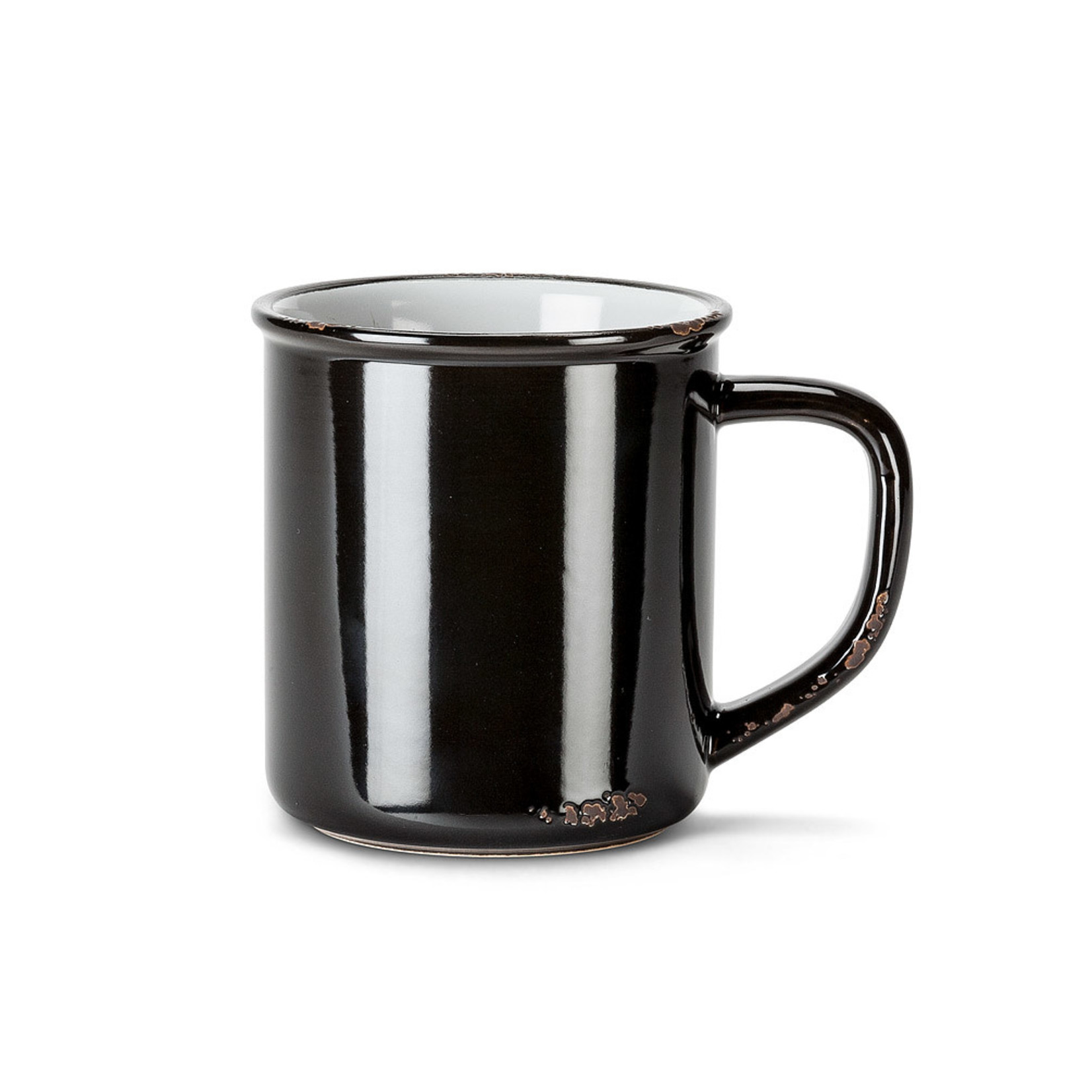 Mug - Enamel Look 14 oz. Stoneware
