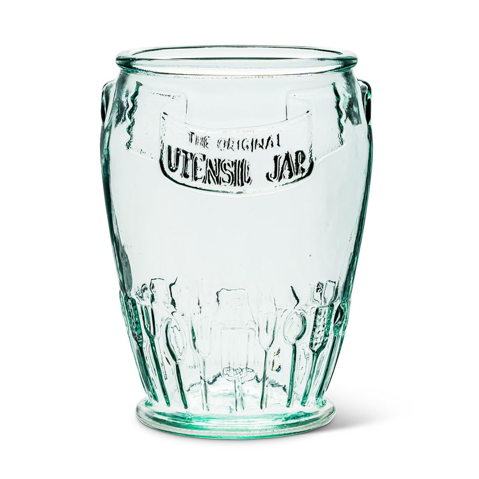 Recycled Glass Jar