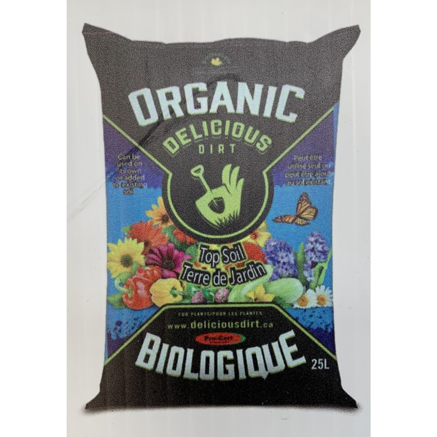 Organic Top Soil - 25 L