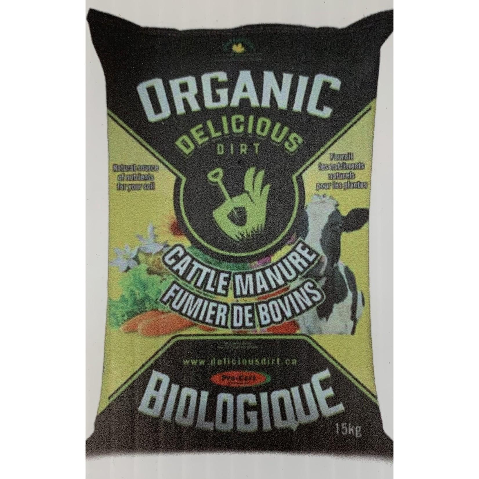 Organic Cattle Manure -  15 Kg