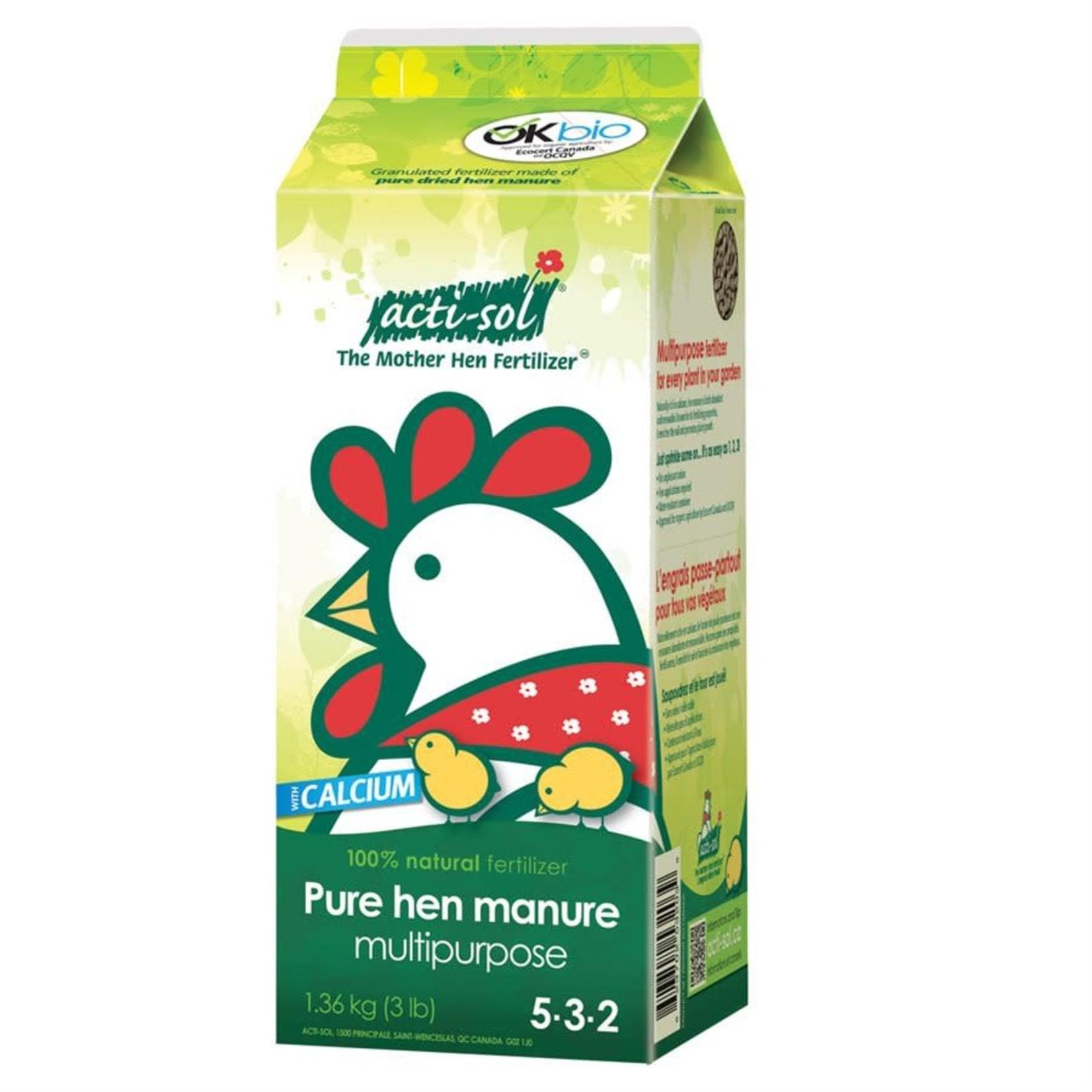 Pure Hen Manure - Multipurpose 5-3-2 (1.36 kg)